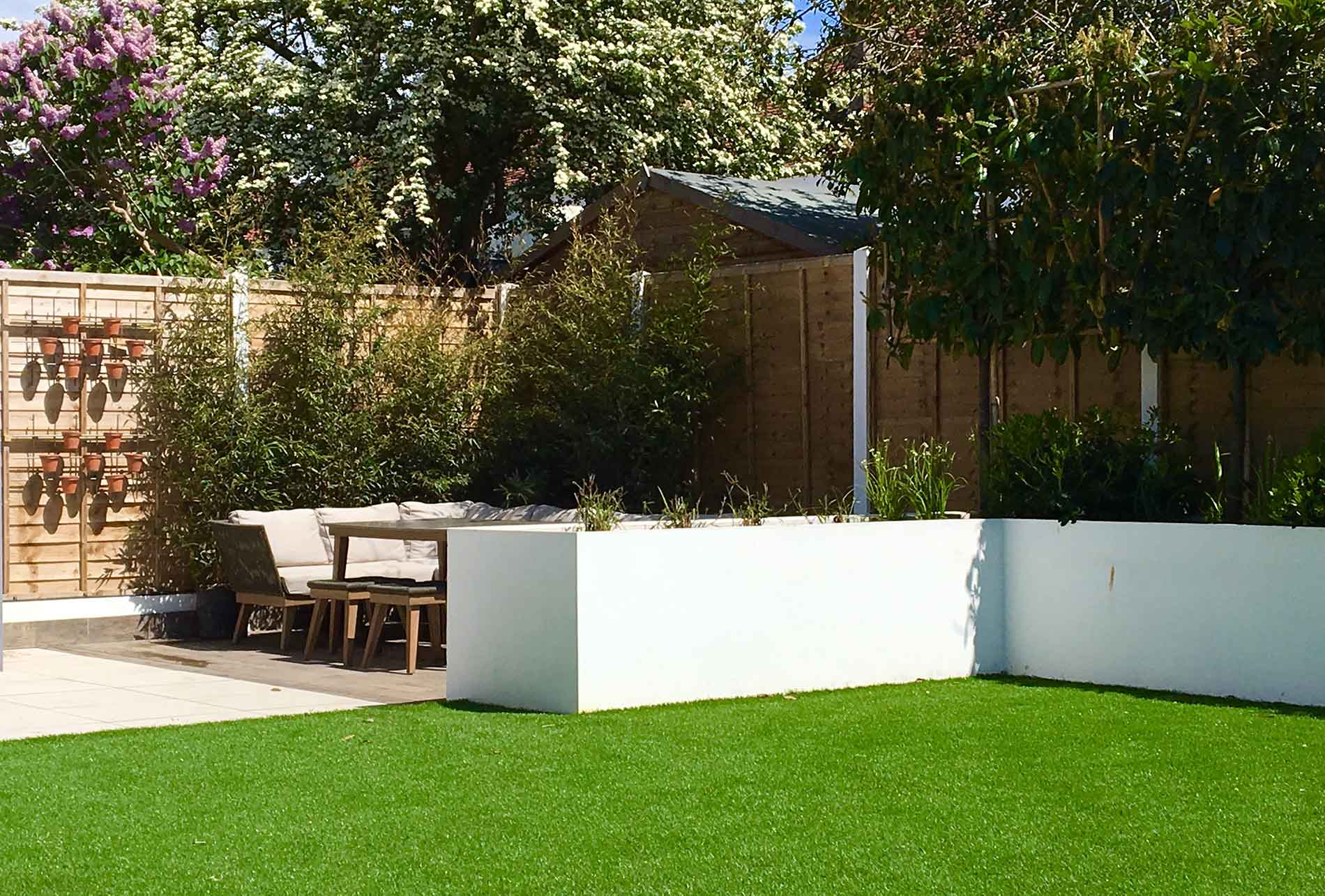 garden designer hove sussex