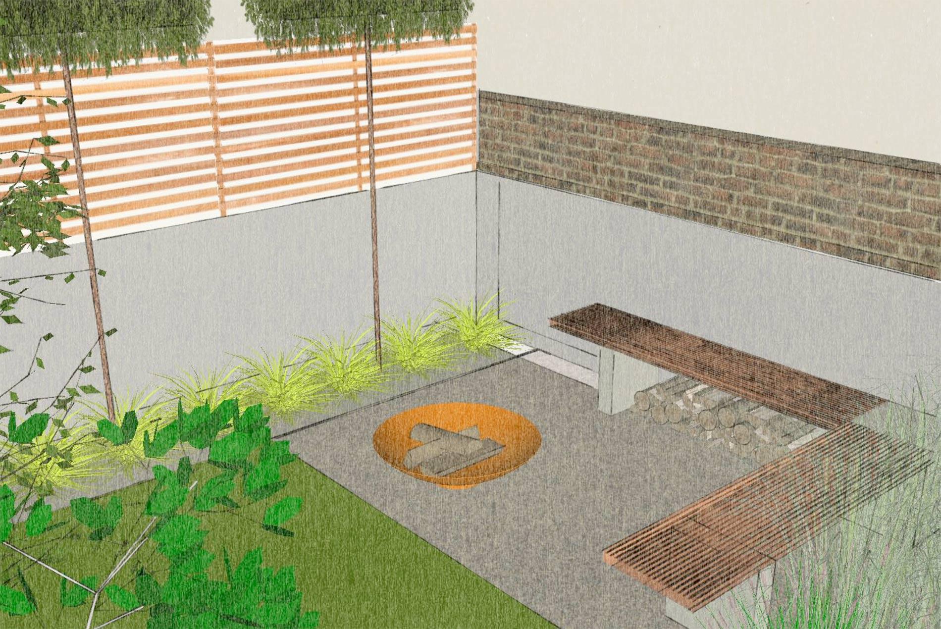 small garden designer