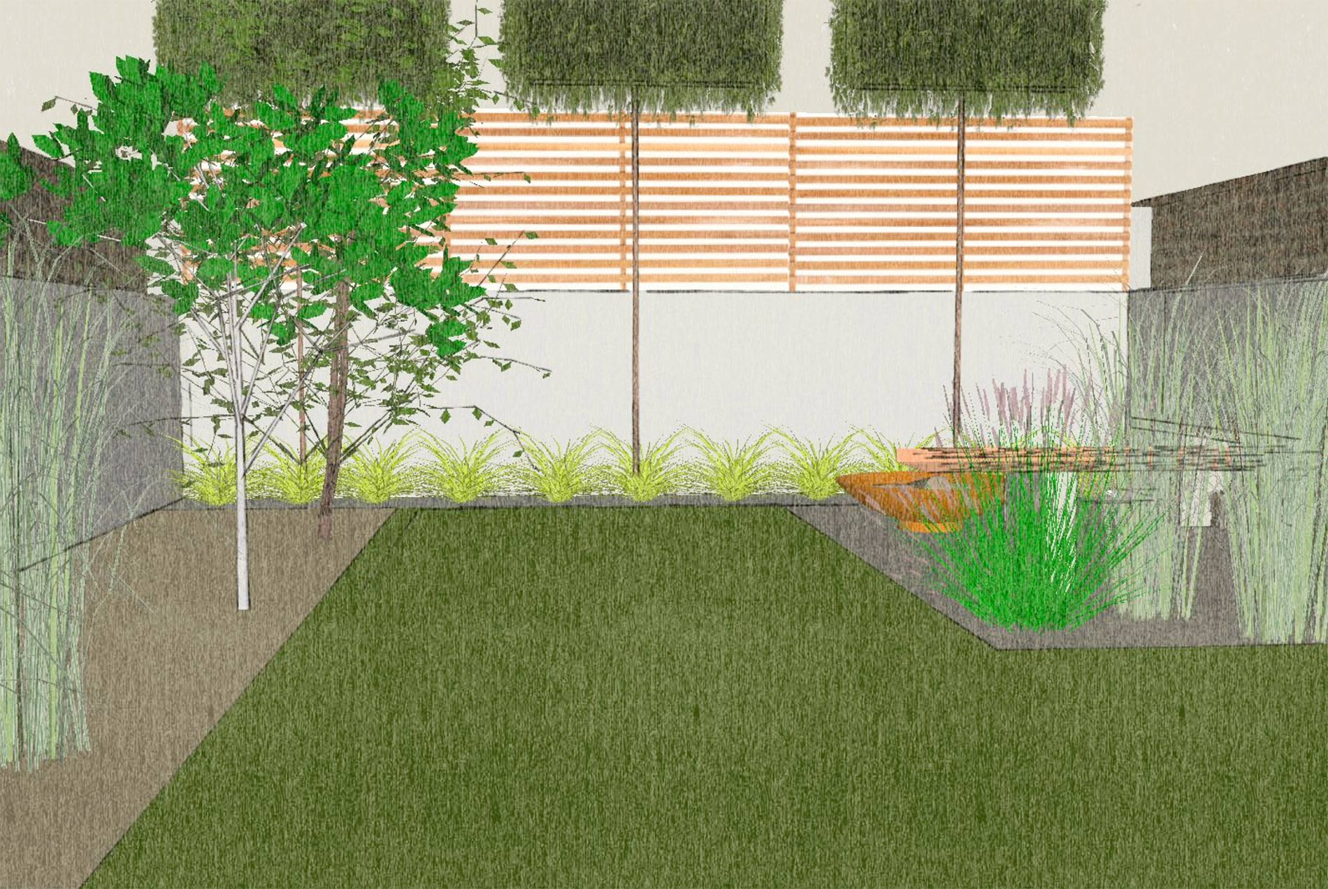 small landscape garden designer