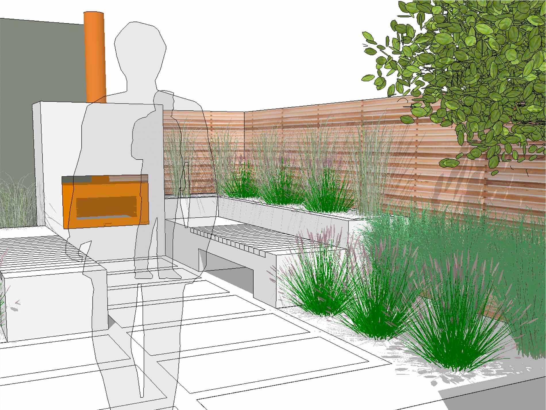 urban garden designer 3D plan